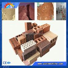 Made in China full automatic red clay brick making machine/2015 new technology clay brick machine