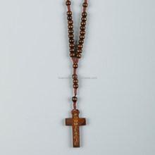coloured wood beads rosary catholic rosary gift