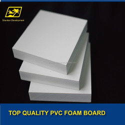 High quality cheap price Lead free PVC foam board for poster/advertising board,furniture board,carving board