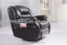 home use leather recliner sofa for elder living room sofa