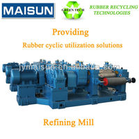 fine reclaimed rubber; reclaimed rubber equipment