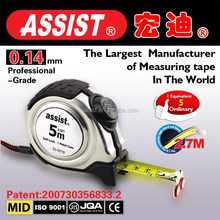 Beautiful useful wholesale auto lock stainless steel tape measure metal meter tape measure