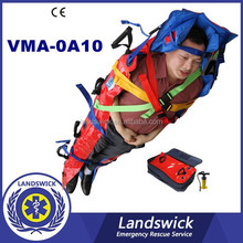 Emergency Waterproof and fireproof Aluminum alloy folded stretcher