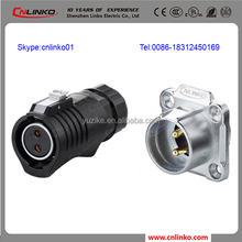 automotive oem wire connectors rotating electrical connectors quick connect and disconnect 2 pin connector
