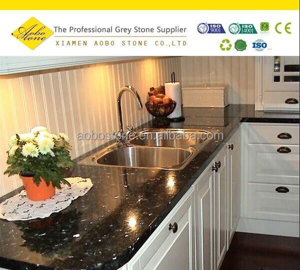 Buy Kitchen Countertops : Emerald pearl granite kitchen countertops