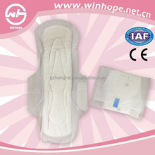 feminine hygiene products / 260mm Cotton disposalble sanitary napkin