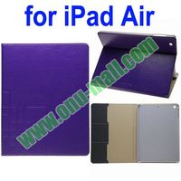 Leather Flip Cover for iPad 5 with Holder