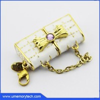 Fashionable lady bag shaped 2.0 usb custom logo pen drive flash drive usb
