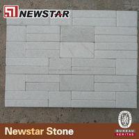 white indoor slate wall tile