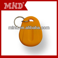 Mind magnetic leather key fob