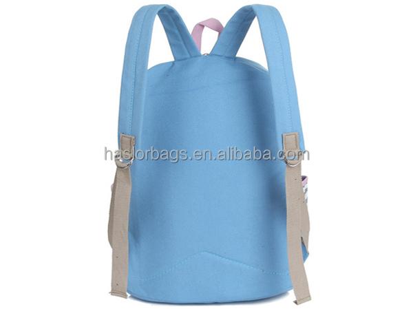 Coréenne mode populaire toile filles sac d'école, Cheval sac d'école