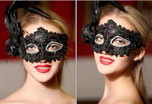 2015 newes halloween lace feather Venetian Masquerade masks Italy venice mask half face mask