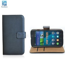 For Huawei Ascend Y625 Book Stand Side Flip Leather Wallet Case Cover Mix Colors