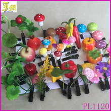 Wholesale Asia Crazy Super Popular Children Boutique Hair Accessories Magical Artificial Flower Fruit Hair Clip Design