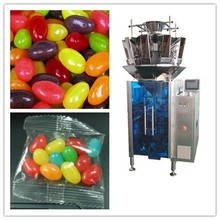 Automatic soft gummy candy machine weighing and packaging machine