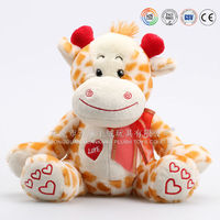 Customized wholesale cow, stuffed cow toy in China factory