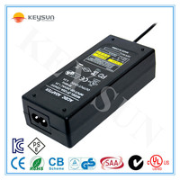 DC Output Type and Plug In Connection Regulated Desktop 12V 4A AC DC Power Supply of Certificate