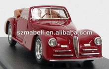 1:18 scale polyresin red color model car
