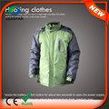 Hj08 7.4v erhitzt neueste jackenformen beheizte kleidung/batterie erhitzt jacke für männer