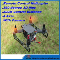 Long flight time 4.5 channel rc helicopter with gps