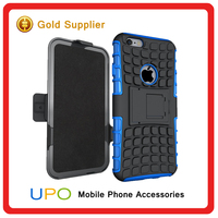 [UPO] Protective Rugged Impact Armor 2 in 1 Hard PC TPU Kickstand Hybrid Combo Phone cover Case with belt clip