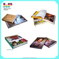hardcover cook Book Magazine/Catalogue Printer Paperback Book printing