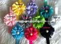 Hermosa diadema de flores, bebé diadema, los niños 2014 accesoriosparaelcabello