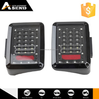 Top10 Best Selling High-End Handmade Customization High Intensity Rohs Certified Led Tail Lights Round Chrome