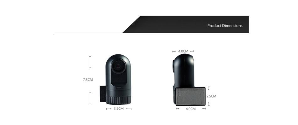 1.5 дюймов автомобиля черный ящик dvr dashcam