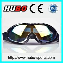 Hot selling China factory wholesale black custom goggles motorcycle