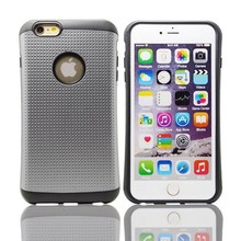 Soft Rubber Hybrid Armor Impact Defender Skin Case for iphone 6