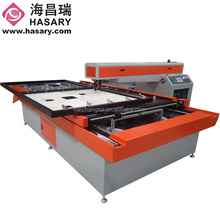 2015 China factory supply 1300x2500mm MDF Wood Plywood laser cutting machine for fabric