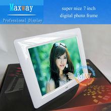 "Super nice 7"" digital photo frame / frame photo"