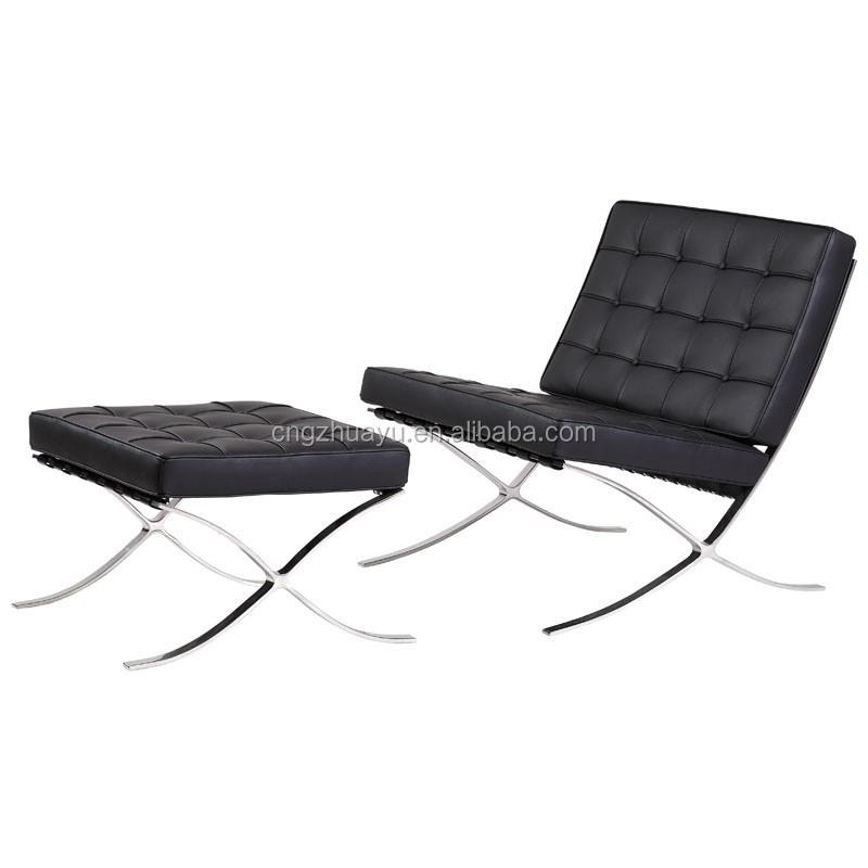 Sedia di barcellona e pouf sedie in soggiorno id prodotto for Sedia barcellona