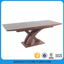 2015 Future furniture factory direct sale extension dining table