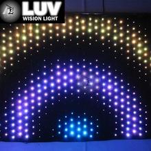 LUV-LVC hot sale dj lighting led flexible curtain/ soft xxx videos alibaba cn