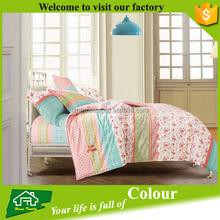 Washing linen microfiber made in china bedding set