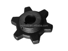 Industrial cast iron chain and sprockets sprockets ,OEM made