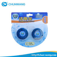 50g wc toilet drain cleaner/solid toilet pipe cleaner/portable toilet cleaning