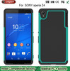 2015 factory wholesale new robot armor Silicone for sony xperia Z4 case Combo Mobile Phone Cases