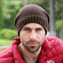 2015 Autumn Winter Hats Men Earflaps Knitted Warm Caps Outdoor Sport Hats