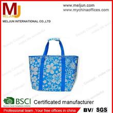 china factory cheap printed nylon foldable shopping bag