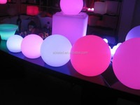 China made funky hotel supplies wedding decoration ball led lighting furniture