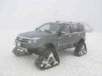 SUV PICKUP TRUCK rubber track conversion system kits