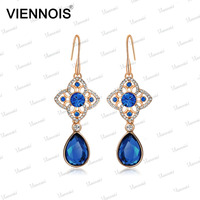 Antique gold earrings design for women with big diamond
