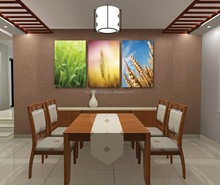 Landscape 3d oil painting printed on canvas wall art pictures for home decoration L-352