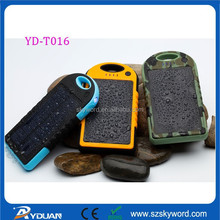 Dustproof and shockproof 12000mah Power Banks YD-T016 famous brand mobile power banks