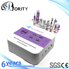 2015 Guangzhou Factory OEM/ODM 7in1 facial beauty machine,skin tightening beauty salon furniture for sale with CE certificate