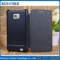 Flip Leather Mobile Phone Case For Samsung Galaxy S2 SII i9100 9105P 9108 9100G