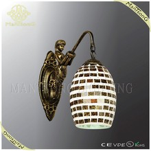 2015 hot sale turkish mosaic glass wall lamp interior home lighting decoration